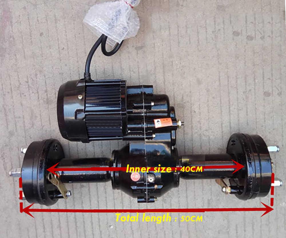 silnik elektryczny do roweru Elektryczny rower elektryczny trójkołowiec akcesoria wysoka moc silnika bezszczotkowy silnik 500W 800W 1200W tył silnika osi