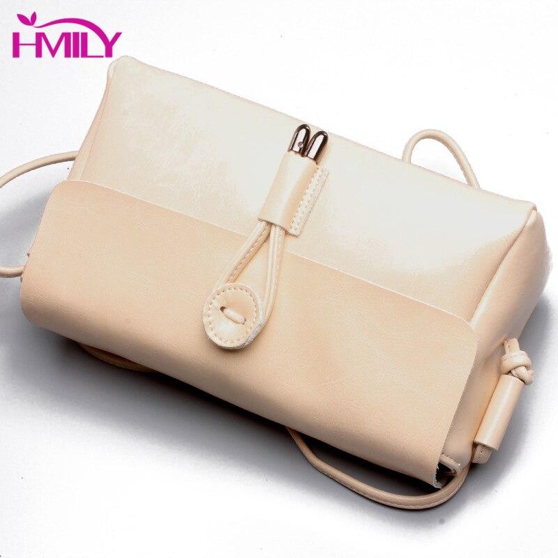 HMILY sac à bandoulière Vintage huile cire cuir femmes sac Messenger à la mode en peau de vache sac à bandoulière dames loisirs Mini quotidien femmes sac