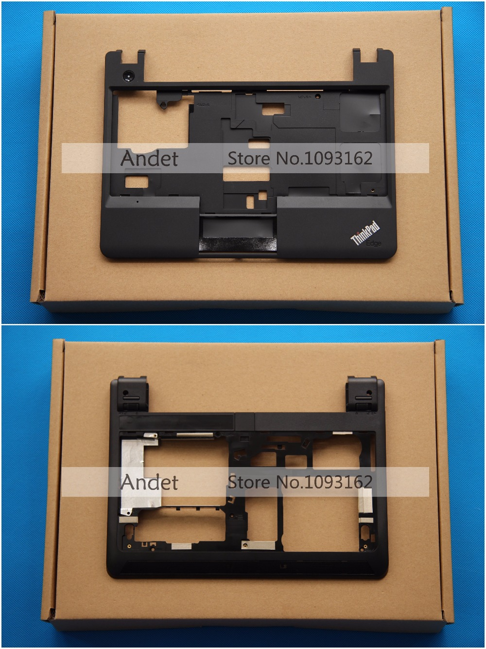 New Original Lenovo ThinkPad E130 E135 E145 Bottom Base Cover Palmrest Keyboard Bezel Upper Case without Touchpad 00JT244 00JT26 new original for lenovo thinkpad x1 carbon 5th gen 5 back shell bottom case base cover 01lv461 sm10n01545