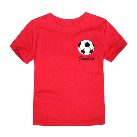 2018 Summer Brand New Football Team Clothing Children Tops Boys T Shirts Kids Tees for 1-14 Years Football Boys Tees Karachi