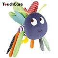 Borboleta baby toys 0-12 meses do bebê boneca de pelúcia brinquedos bebes crianças chocalho pendurado cama sino carro móvel