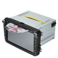 8 дюймов сенсорный экран DVD плеер автомобиля Радио автомобильные ПК стерео головное устройство gps навигации для Фольксваген SAGITAR JETT PASSAT CC SKODA