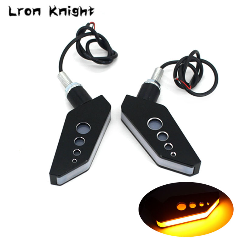 For KAWASAKI Z300 Z650 Z750 Z800 Z900 Z1000 NINJA650 Versys650 Motorcycle Accessories LED Turn Signal Indicator Light Blinker the sixth man