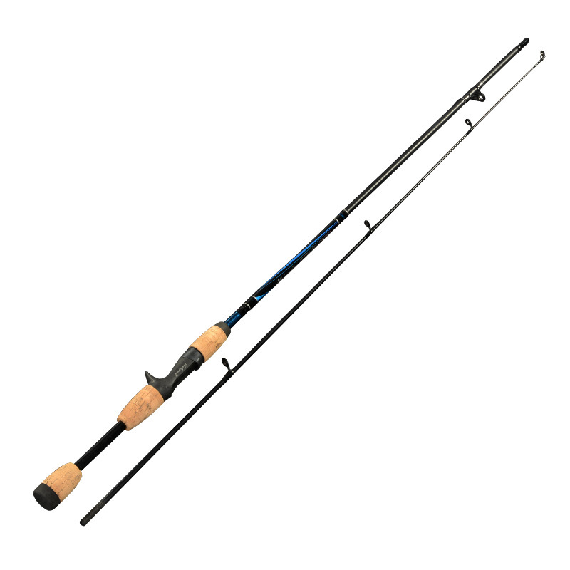 Anzhenji RU non-carbon 1.8m ML handle Lure rod handle pole rod fishing rod wholesale