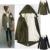 2016 mulheres da moda quente de lã grossa forro casaco longo femme completo manga com capuz fino wadded casacos longos plus size inverno acolchoado