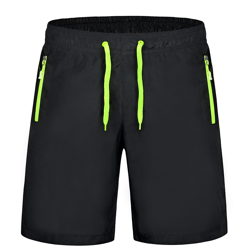 Mænd Kvinder Running Shorts Hurtig Tør Pustabel Polyester Solid Sports Shorts Surfing & Beach Shorts Vandring Trainning Short Pants