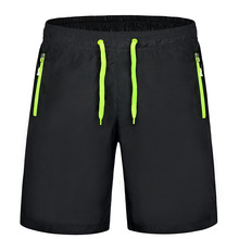 Men Women Running Shorts Quick Dry Breathable Polyester Solid Sports Shorts Surfing & Beach Shorts Hiking Trainning Short Pants