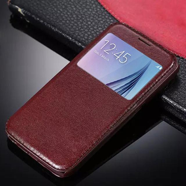Luksusowe zamykane etui dla Sansunga S3 S4 S5 S6 S6 Edge