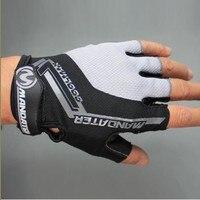 Neue Praktische Berufs Radfahren Fahrrad halbe Finger handschuh S/M/L/XL 4 Farben|bicycle winter gloves|bicycle shockgloves lingerie -