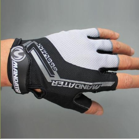 New Practical Professional Cycling Bike Bicycle Half Finger Glove S/m/l/xl 4 Colors Novel (In) Design;