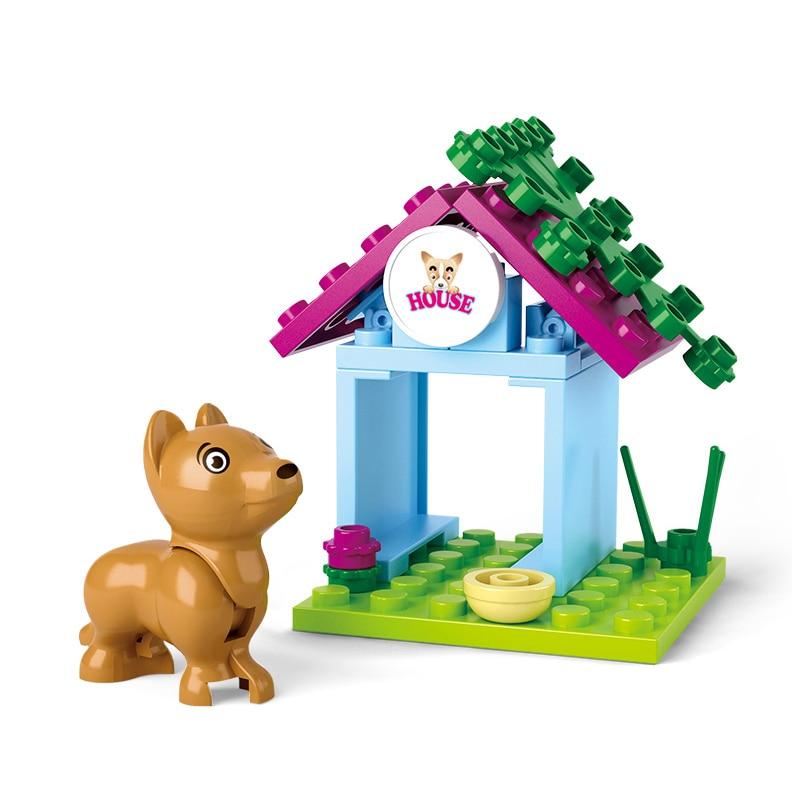 0513 19pcs Girl's Dream Constructor Model Kit Blocks Compatible LEGO Bricks Toys For Boys Girls Children Modeling