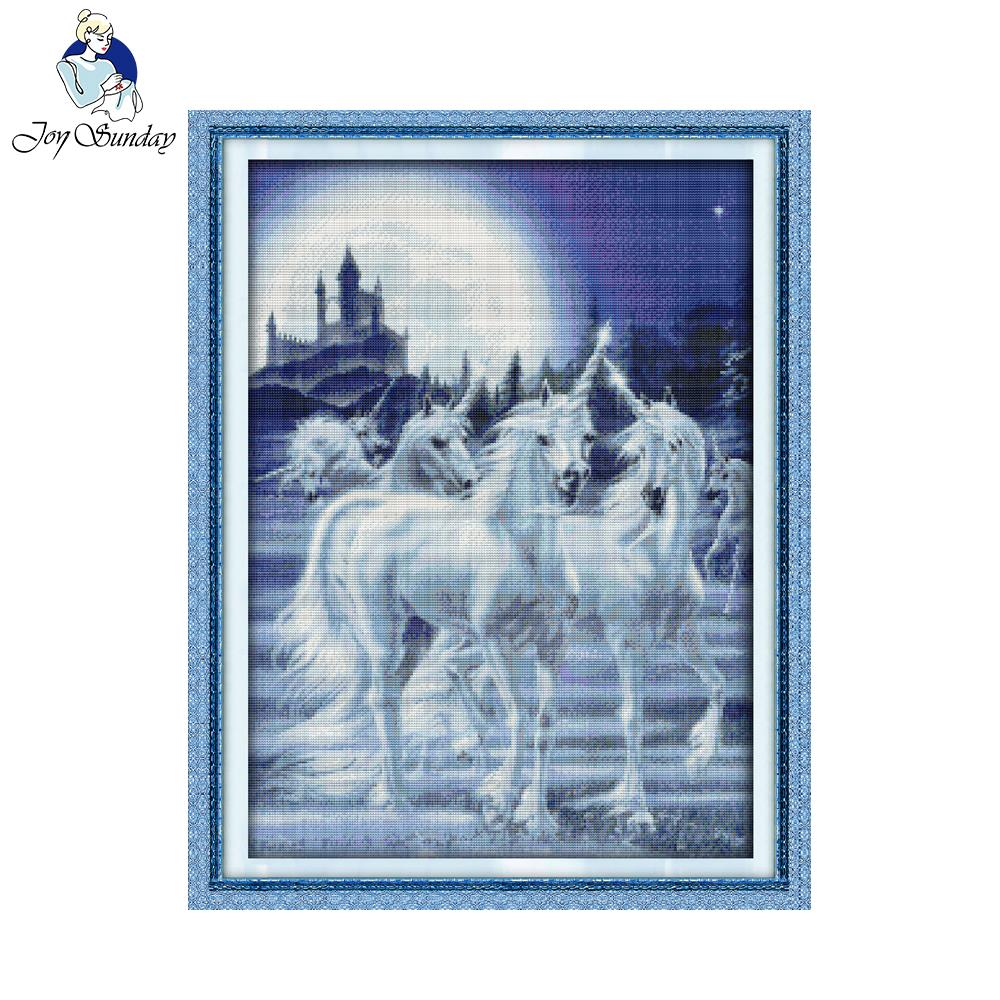 DONKEY ~ Complete original counted cross stitch kit