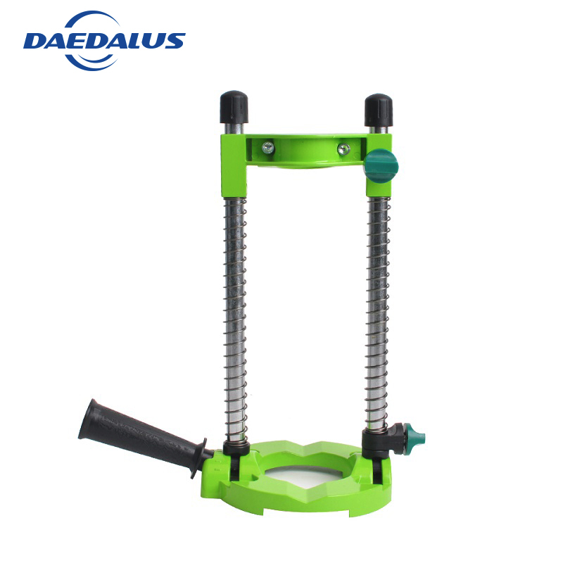 Precision Drill Stand Holder Adjustable Angle Removeable Handle Drill Holder Stand For Drill holder Guide DIY Power Tools Wood