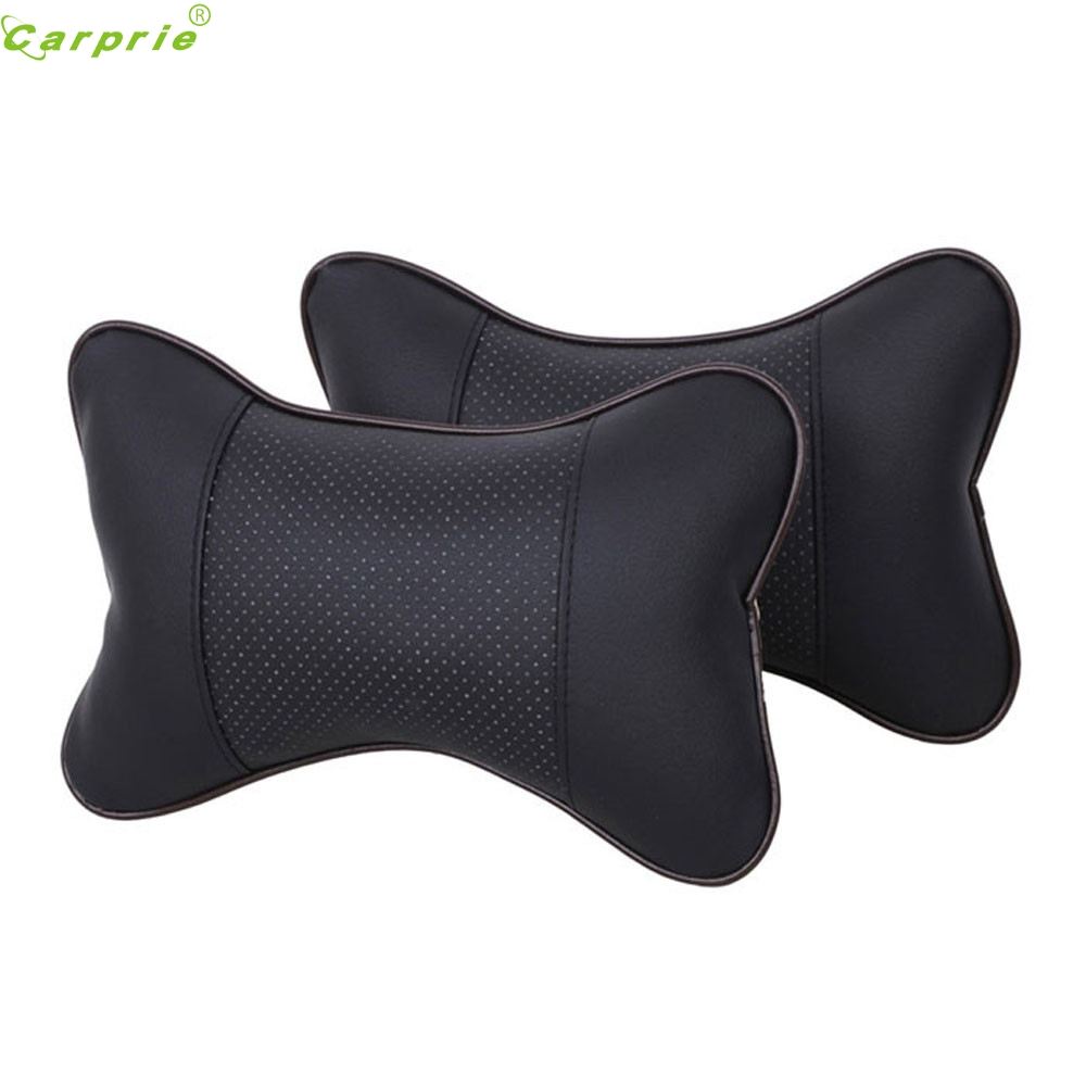 Car-styling 2017 AUTO New Breathe Car Vehicle Auto Seat covers Head Neck Rest Cushion Headrest Pillow Pad Hot Selling Au 21
