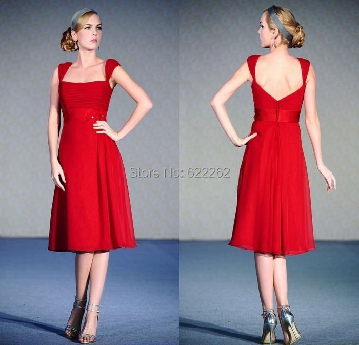 Popular Red Beach Bridesmaid Dresses-Buy Cheap Red Beach ...