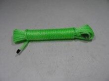 Бесплатная доставка 6 мм * 15 м atv/utv лебедки, лебедки для offroad частей, лебедки веревка, плазмы веревки