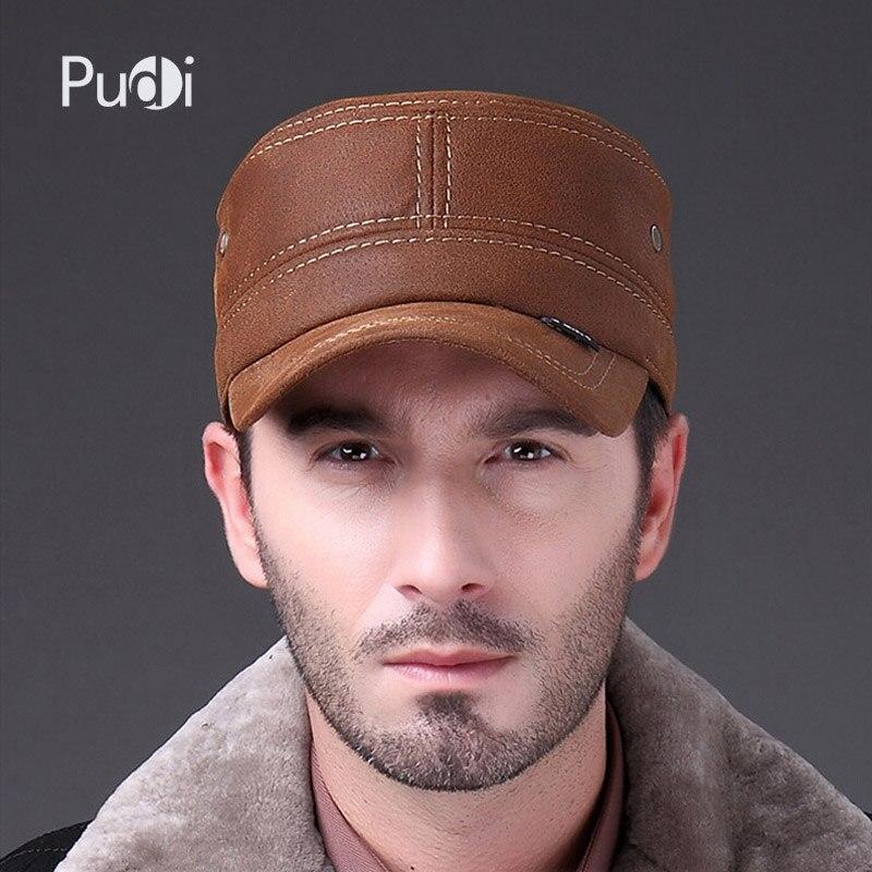 HL019 Բնական կաշվե բեյսբոլի գլխարկ Fashion - Հագուստի պարագաներ - Լուսանկար 2