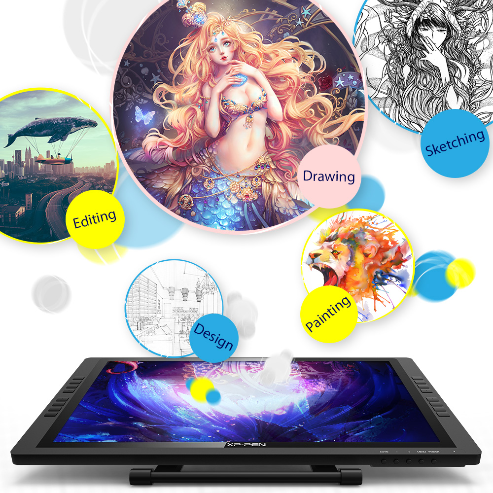 Drawing monitor tablet 22EPro XP Pen 1 (3)