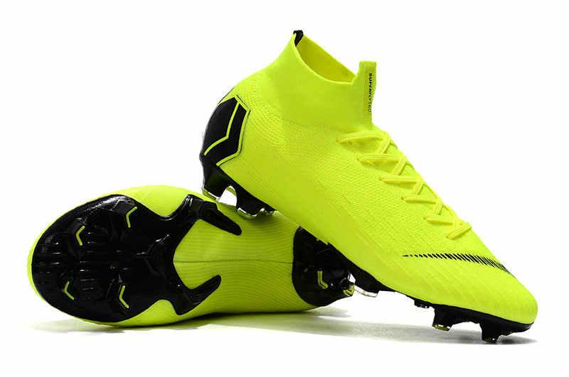 a64e7d24d3f Best Seller ZUSA Superfly VI Elite 360 FG Football Boots Mens Outdoor High  Ankle Flyknit Soccer