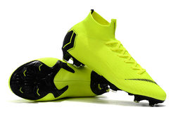 Best Seller ZUSA Superfly VI Elite 360 FG Football Boots Mens Outdoor High Ankle Flyknit Soccer Shoes Cleats