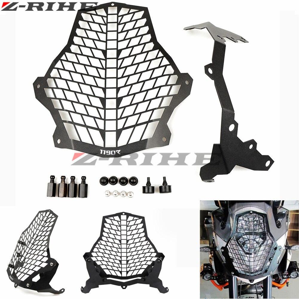 Мотоцикла для KTM решетка фар гвардии 1290 ADV 15 16 супер Приключения 2015 2016 мото Интимные аксессуары головного света Защитная крышка