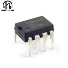 LME49710NA única linha 8 pino de alta fidelidade de áudio amplificador operacional novo EUA plástico LME49710 chip IC op amp