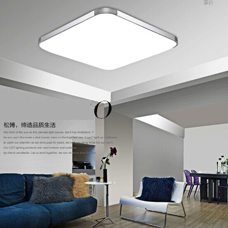 2018 modern led apple ceiling lights square 30cm led ceiling lamp kitchen light bedroom livingroom low price high quality in ceiling lights from lights