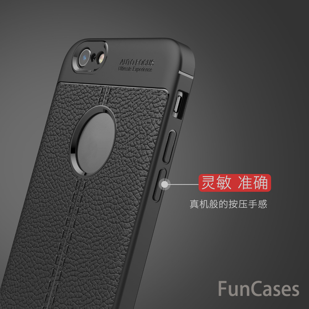 Luxury TPU Flip Leather case For IPhone 6s plus Full Protective Back Cover For IPhone 6 plus Anti-knock Phone shell iphon