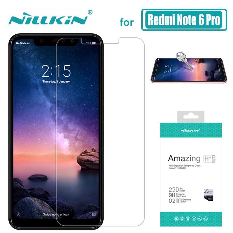 Nillkin für Xiaomi Redmi Hinweis 6 Pro Glas 9 H + Pro Gehärtetem Glas Screen Protector 0,2mm für Xiaomi redmi Hinweis 5 Pro Nilkin Glas