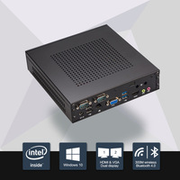 Intel Celeron J1900 Mini PC Barebone Linux Windows 10 Desktop Thin client Macro Computer free shipping