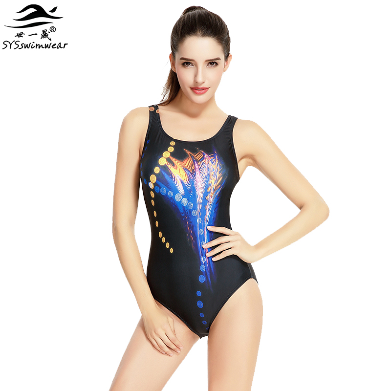 Hot Summer Pool High Quality Sexy Women One Pieces Swimwear Backless Wire Free Sport Swimsuit Print & Solid Hot Bathing Suit new hot sexy high quality two zipper japanese sukumizu school swimsuit one pieces slimming swimsuit women bathing suit with pad