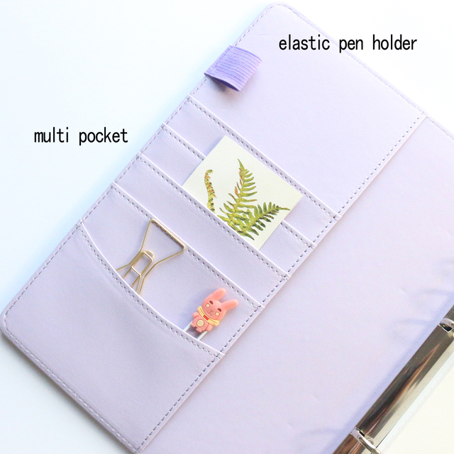 Personal Pastel Colored Notebook Planner