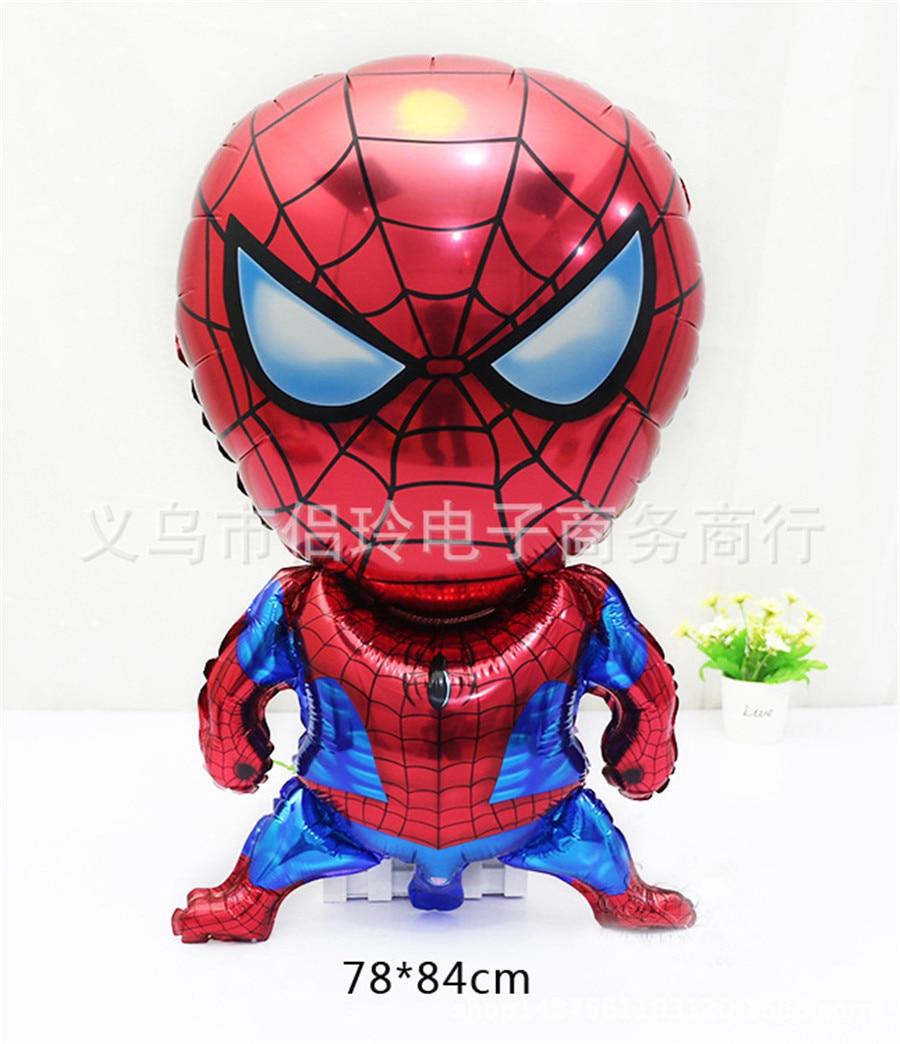 20 teile/los Aufblasbare Cartoon Ballon Spiderman Flugzeug Ballon ...