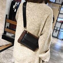 Nueva marca de alta calidad mujeres hit color de bolso crossbody bolsos Messenger Bolsos Mujer bolsa feminina