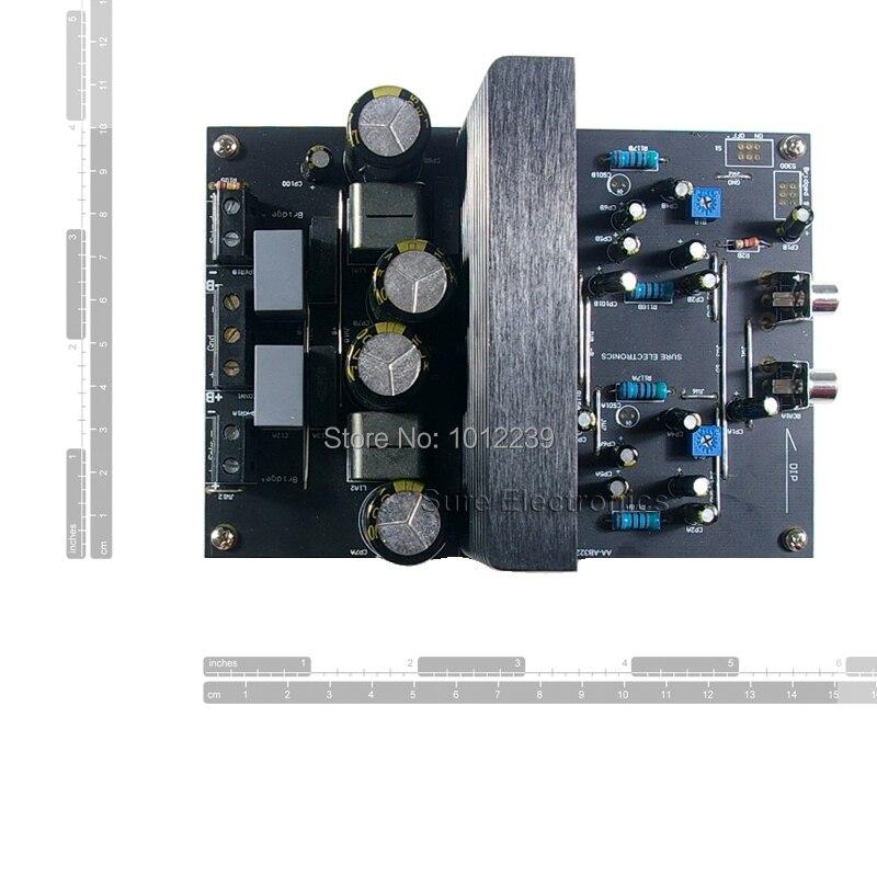 2x 125W IRS2092 Watt 8 Ohm Class D Audio Amplifier Board - 2x 125W IRS2092 Stereo Power Amp