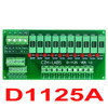 Panel Mount 10 Position Power Distribution Fuse Module Board For AC110V