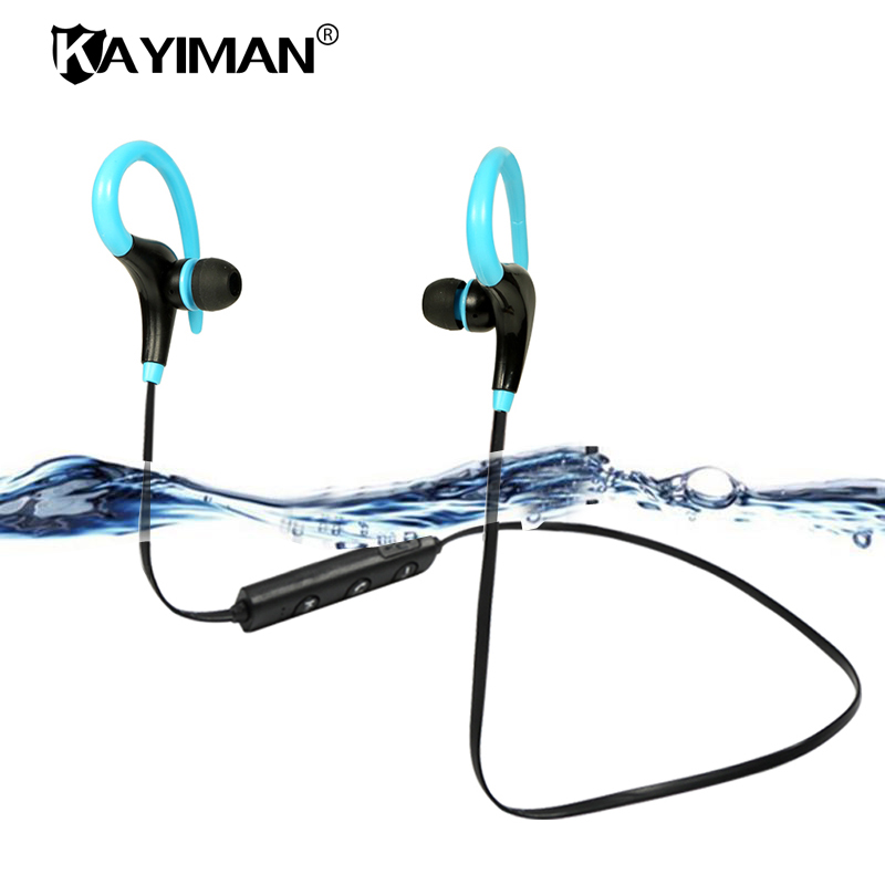 New Waterproof Sports Bluetooth Headset In-Ear Wireless Running Earphone Earbuds with Microphone for iOS and Android phone new dacom carkit mini bluetooth headset wireless earphone mic with usb car charger for iphone airpods android huawei smartphone