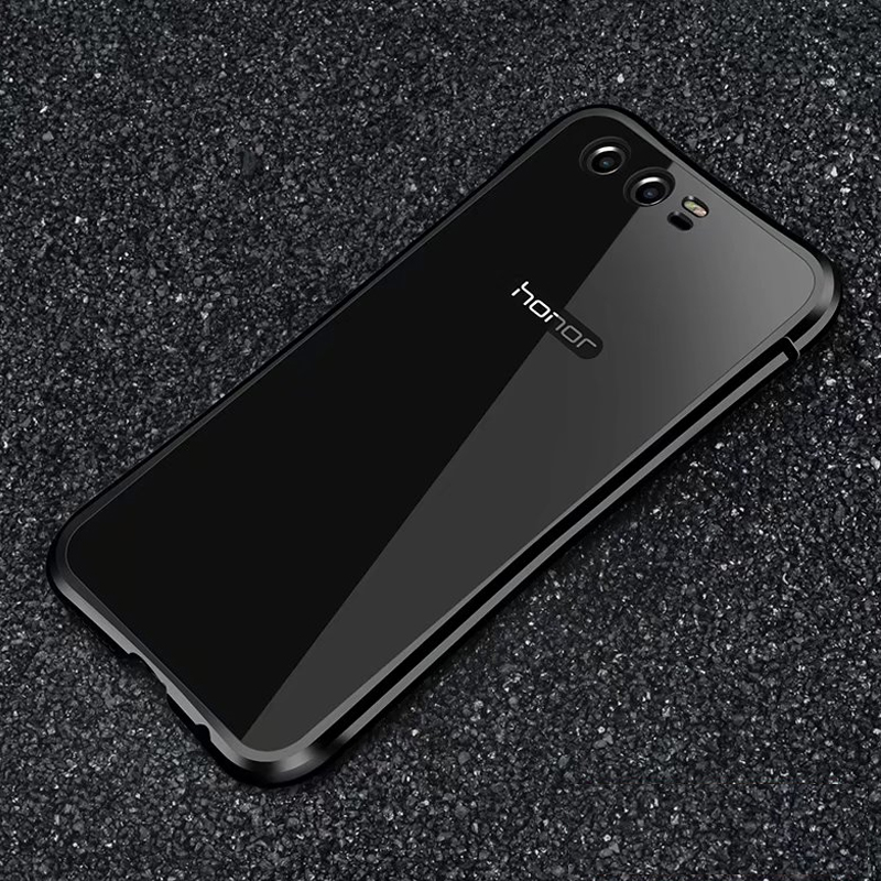 For Huawei Honor 9 Case Luxury Metal Aluminum Bumper+Hard PC Back Cover Shockproof Armor Phone Case For Huawei Honor 9 Fundas