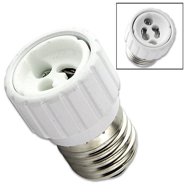 Hot Sale 10 E27 Male Plug To E14 Female Socket Base Led Light Lamp Bulb Adapter Converter Consumer Electronics
