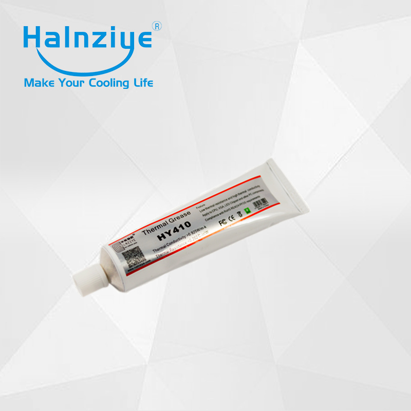 HY410 high temperature thermal paste compound grease with 100g tube for hair straightener elements with free shipping cpu cooling conductonaut 1g second liquid metal grease gpu coling reduce the temperature by 20 degrees centigrade
