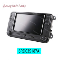6.5' RCD330 Plus MIB Radio USB AUX Bluetooth RCD510 RCN210 For VW Polo Golf 5 6 Passat B6 B7 CC Tiguan Jetta MK5 MK6 6RD035187A