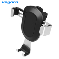 Xnyocn Air Outlet Car Phone Holder For IPhone Samsung Car Air Vent Mount Stand Adjustable Mobile