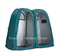 Double Pop Up Shower Tent Ensuite Change Room Toilet/3function pop up portable tent original export to Australia