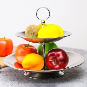 1 Набор чаша для фруктов 3 стойка из ярусов нержавеющая сталь подставка для фруктов держатель для дома # 4O