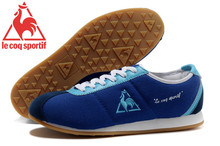 Le Coq Sportif Men's Running Shoes,High Quality Embroidery Logo Le Coq Sportif Men's Athletic Shoes Sneakers Navy Color 1