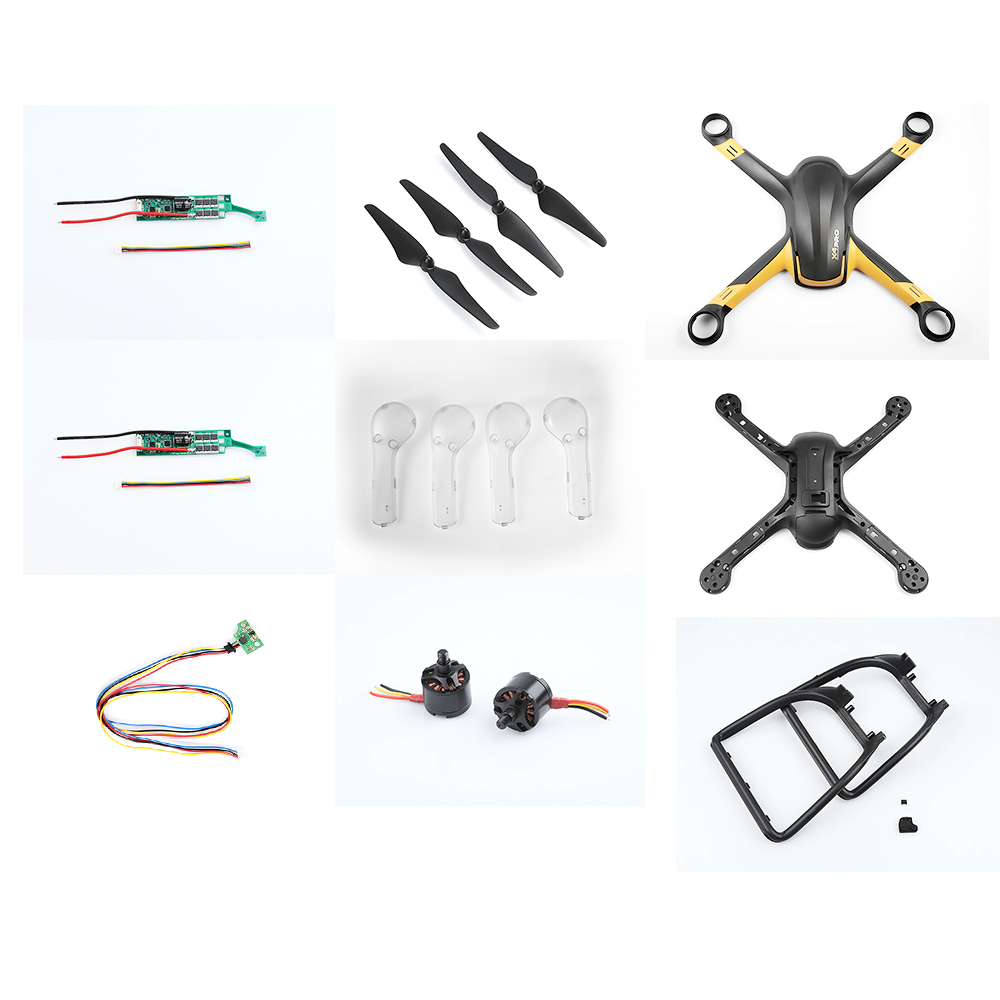 Original Hubsan X4 PRO H109S FPV RC Drone Quadcopter Spare Parts Crash Pack H109S-62 for Hubsan H109S X4 PRO original hubsan x4 pro h109s fpv rc drone quadcopter spare parts low edition remote controller h109s 50 fpv1 transmitter