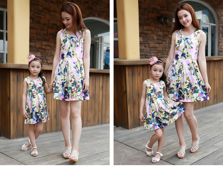 Mother Daughter Summer Dresses,