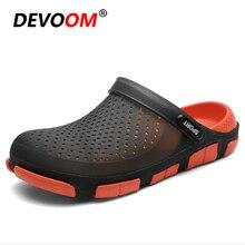 Slippers Men Flip-Flops Footwear Slides Pantoufles Lightweight Outdoor Fashion 45 Summer