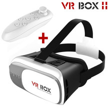 Hot VR BOX II 2.0 2016 Google VR Glasses Virtual Reality 3D Glasses Headset For 4.0 – 6.0 inch Smartphone For iPhone Samsung etc