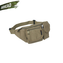 Men Outdoor Canvas WaIst Pockets Multifunctional Canvas Purses Small Sport Hiking Trekking Bags